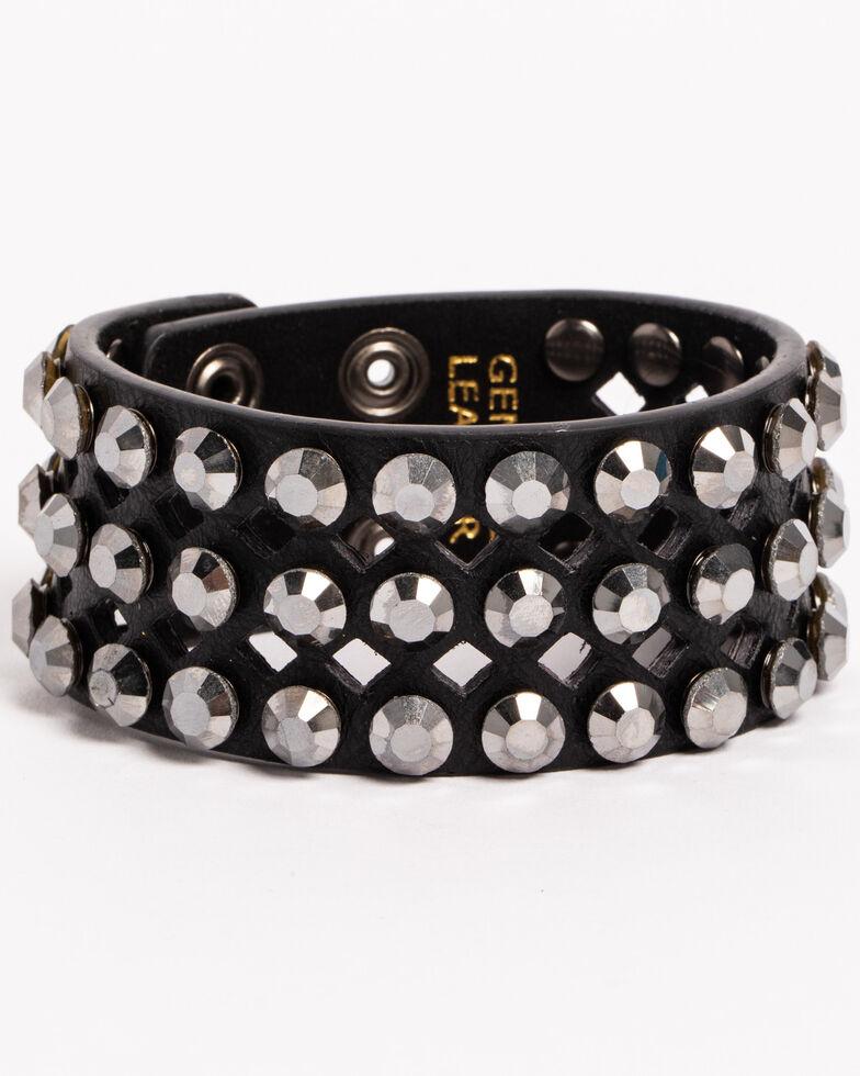 Shyanne Women's Multi-Rhinestone Cuff Bracelet, , hi-res