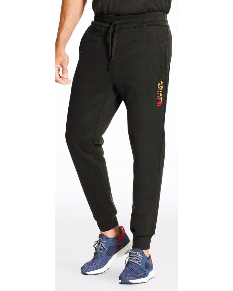 Ariat Men's FR Work Sweatpants, Black, hi-res