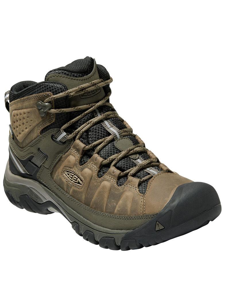 Keen Men's Targhee III Waterproof Hiking Boots - Soft Toe, Grey, hi-res