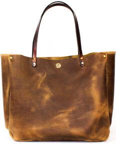 Southlife Supply Womens Shiloh Aged Bourbon Medium Bucket Bag Brown Hi Res