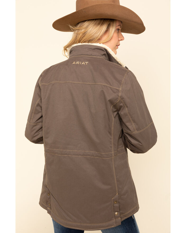 Ariat Women's Banyan Bark Grizzly Jacket , Olive, hi-res