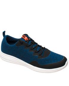 Freeshield Men's Real Wool Casual Shoes, Navy, hi-res