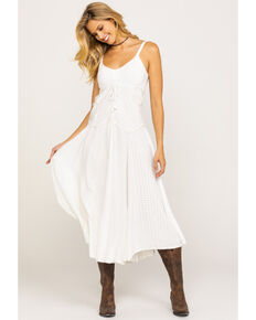 Scully Long Maxi Dress, Ivory, hi-res