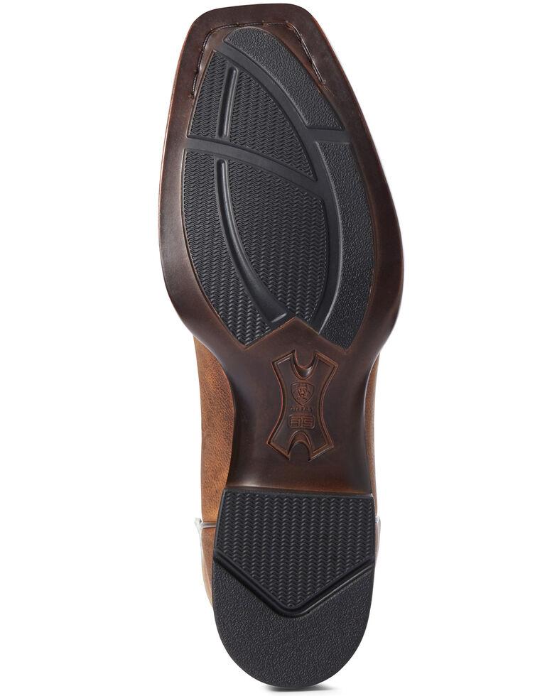 Ariat Men's Reinsman Ultra Western Boots - Square Toe, Brown, hi-res