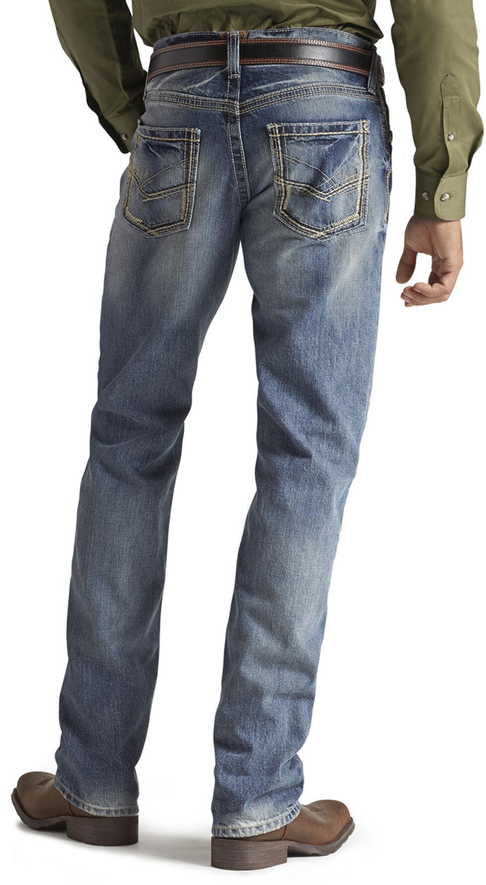 Ariat M5 Ridgeline Medium Wash Jeans, Med Stone, hi-res