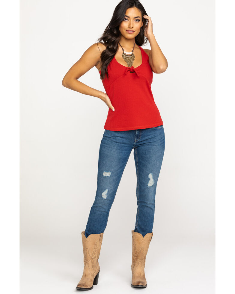 Idyllwind Women's All Righty Tank, Red, hi-res
