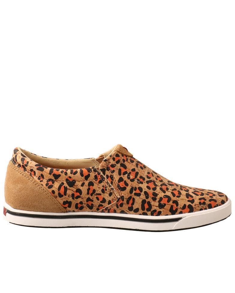Twisted X Women's Leopard Print Shoes - Moc Toe, Honey, hi-res