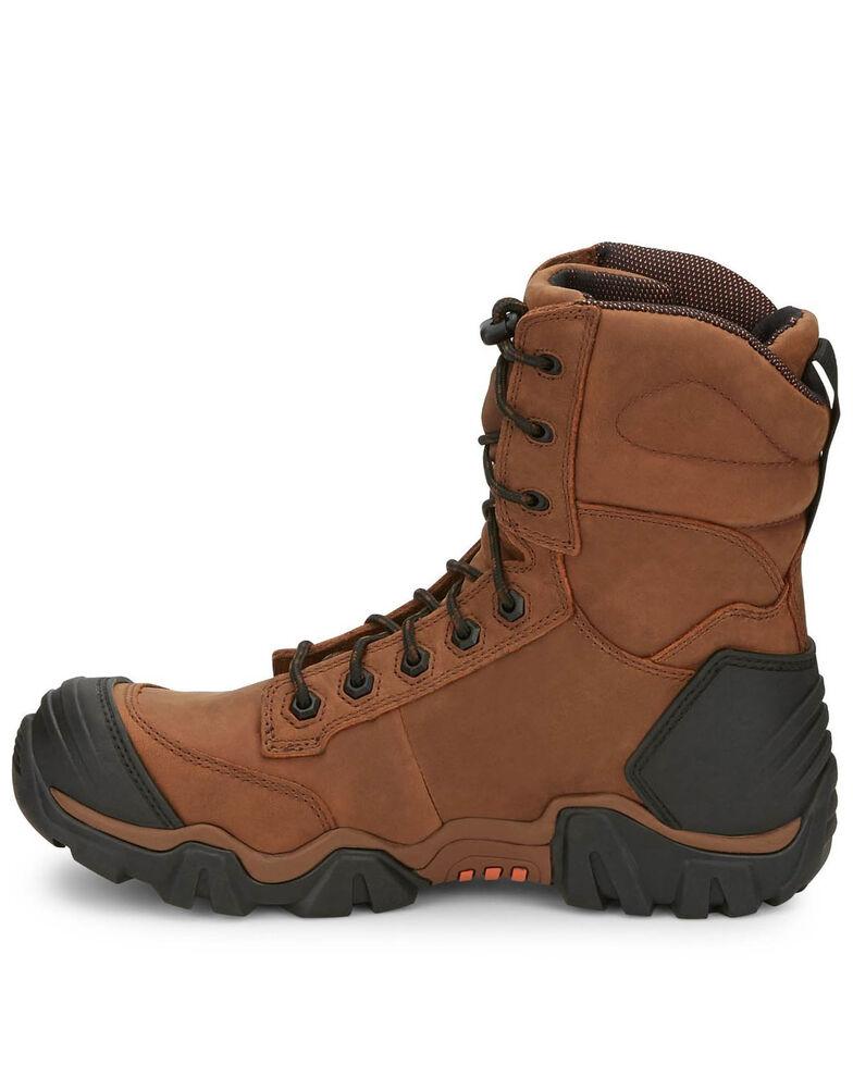 Chippewa Men's Atlas Waterproof Work Boots - Composite Toe, Brown, hi-res