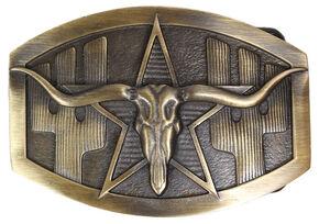 Cody James Men's Longhorn Buckle, Multi, hi-res