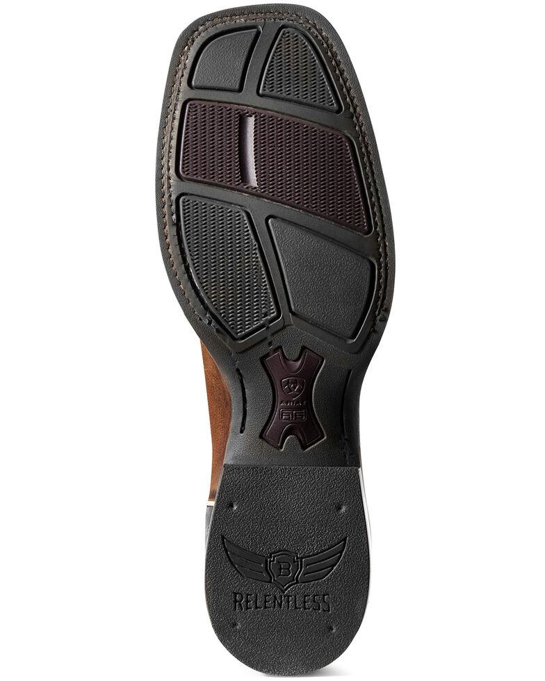 Ariat Men's Reacher Western Boots - Wide Square Toe, Brown, hi-res