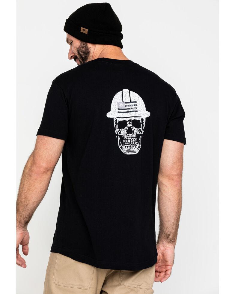 Ariat Men's Black Rebar Cotton Strong Roughneck Graphic Work T-Shirt , Black, hi-res