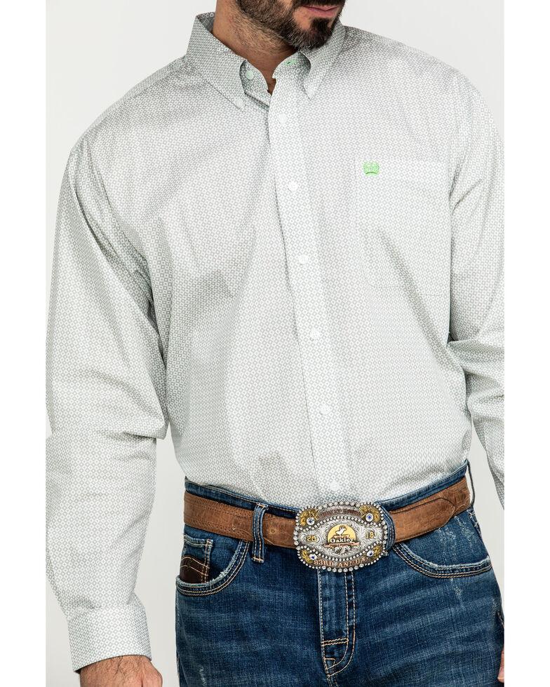 Cinch Men' Multi Diamond Geo Print Long Sleeve Western Shirt , Multi, hi-res