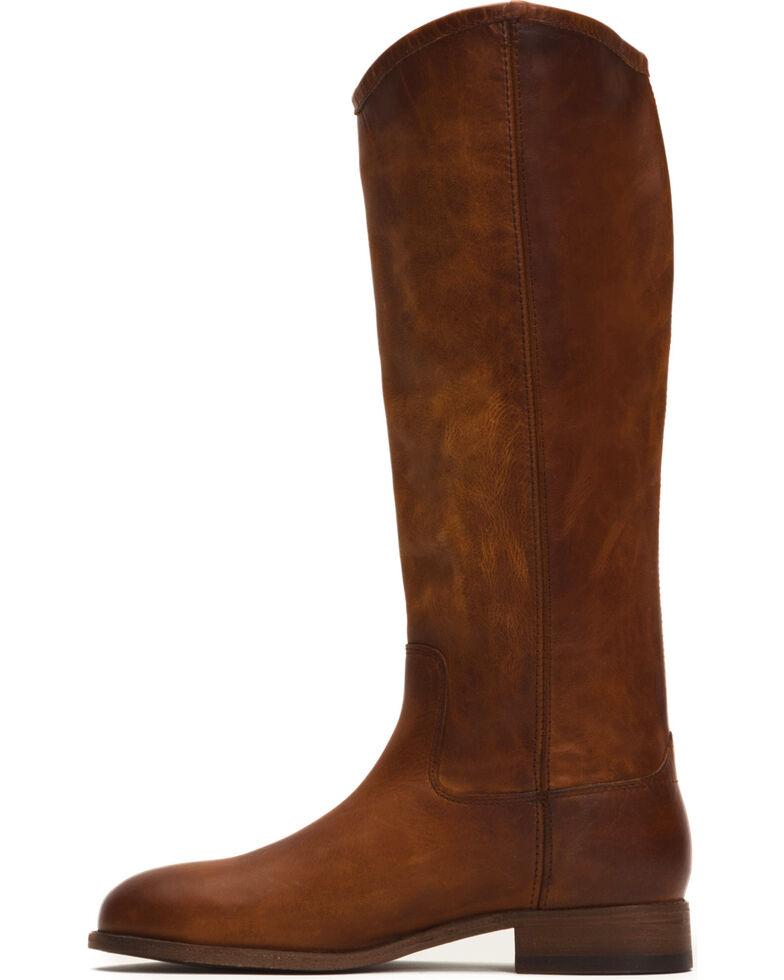 Frye Women's Cognac Melissa Button 2 Tall Boots - Round Toe , Cognac, hi-res