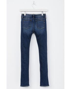 Miss Me Girls' Simple Things Ankle Skinny Jeans, Indigo, hi-res