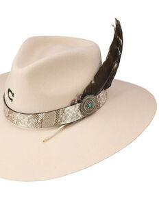 Charlie 1 Horse Women's Silverbelly Sidewinder Wool Felt Western Hat , Silver Belly, hi-res