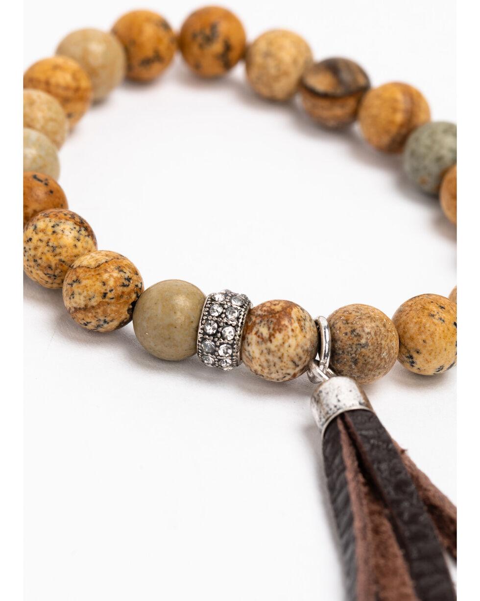 Idyllwind Women's Tassel Beaded 4 Stack Bracelets, Multi, hi-res