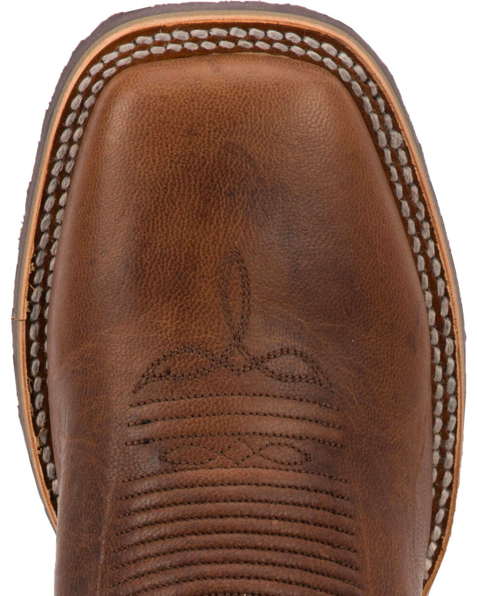 Dan Post Men's Honcho Cowboy Certified Western Boots - Square Toe, Brown, hi-res