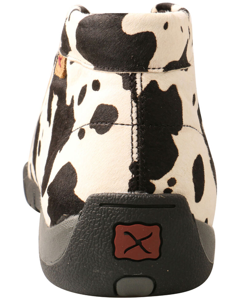 Twisted X Men's Black & White Driving Shoes - Moc Toe, Multi, hi-res