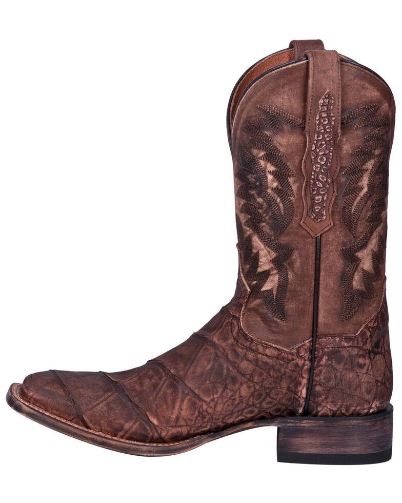 Dan Post Men's Albert Western Boots - Square Toe, Brown, hi-res
