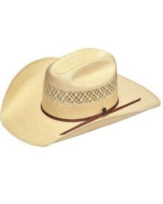 Ariat Men's 20X Natural Stone Shantung Straw Western Hat  , Natural, hi-res