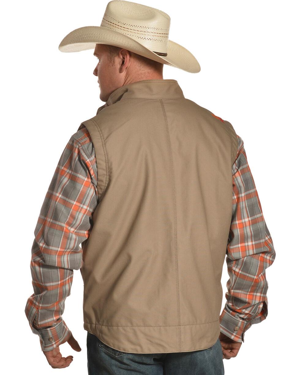 Ariat Men's FR Lined Workhorse Vest, Beige/khaki, hi-res