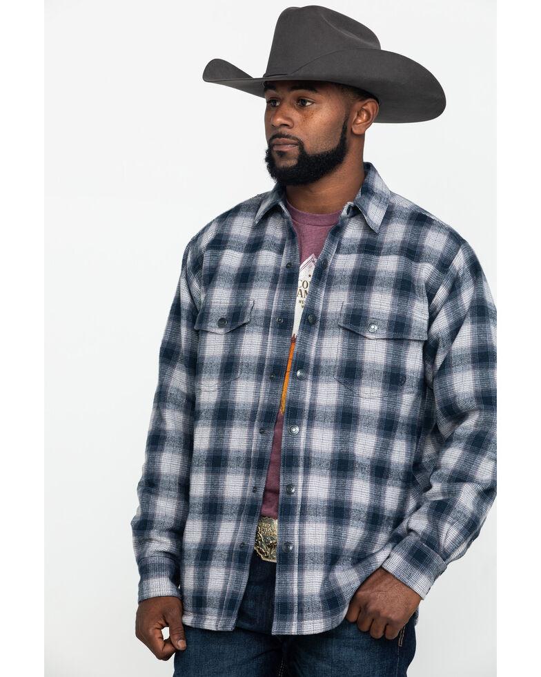 Ariat Men's Fenrir Flannel Shirt Jacket , Grey, hi-res