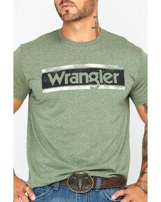 Wrangler Men's Sage Classic Logo Graphic Tee, Green, hi-res
