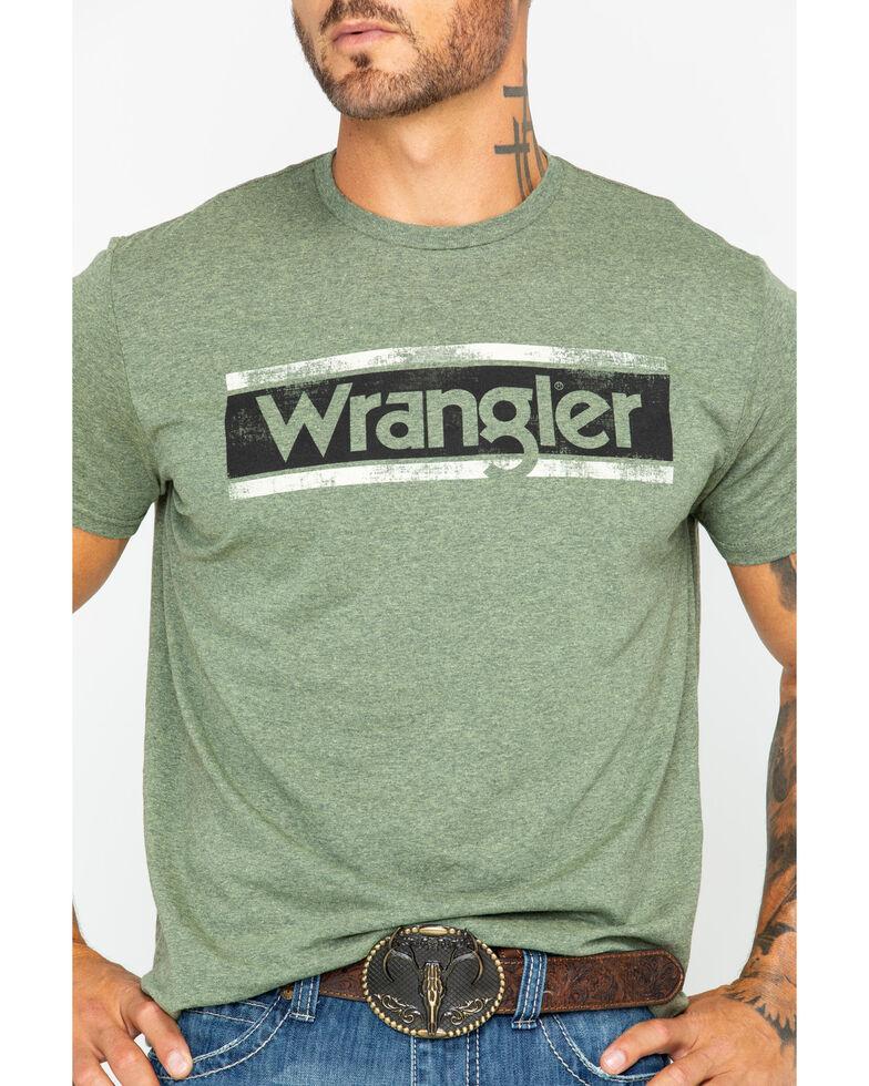 Wrangler Men's Sage Classic Logo Graphic Tee, , hi-res