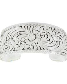Montana Silversmiths Bursting Bloom Bracelet, Silver, hi-res