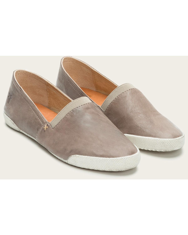Frye Women's Grey Melanie Slip On Shoes