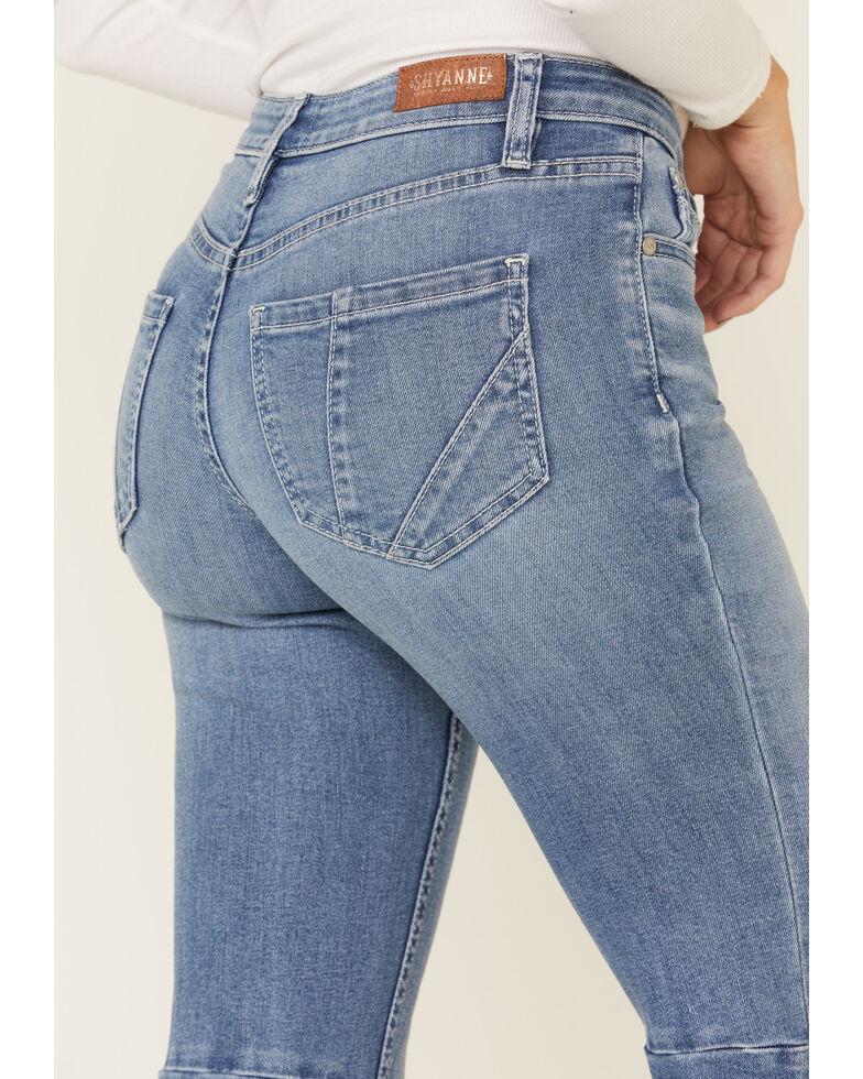 Shyanne Women's Midrise Super Flare Jeans, Light Blue, hi-res