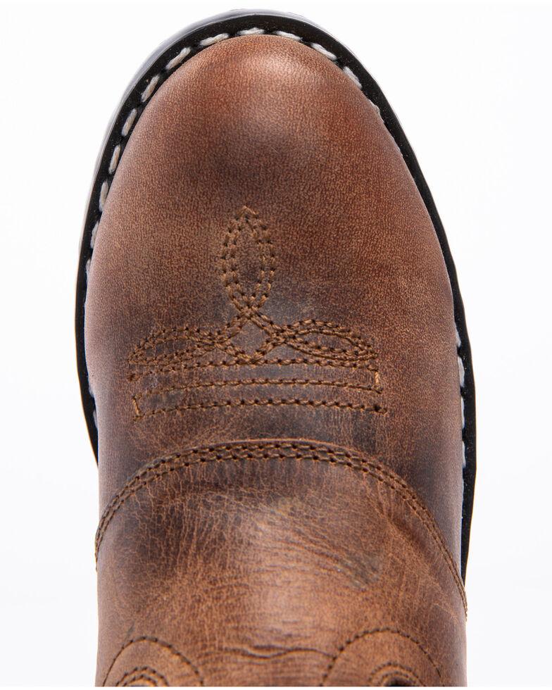 Cody James Boys' Black & Brown Western Boots - Round Toe, Brown, hi-res