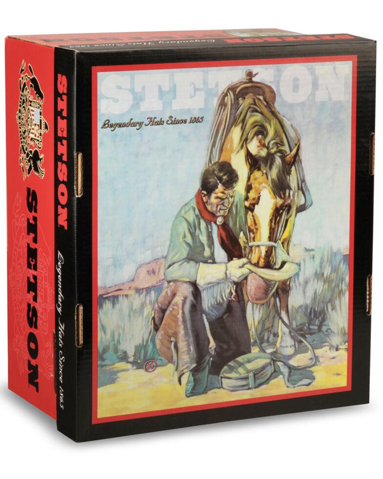 Stetson Men's 6X Open Road Fur Felt Cowboy Hat, Silverbelly, hi-res