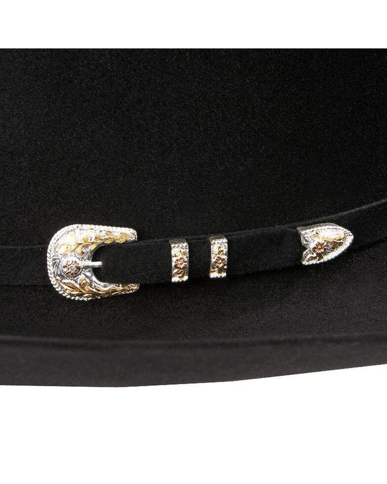 Larry Mahan Superior 500X Fur Felt Cowboy Hat, Black, hi-res