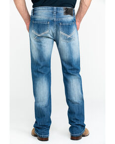 Panhandle Men's Light X Pocket Vintage Pistol Straight Jeans , Blue, hi-res