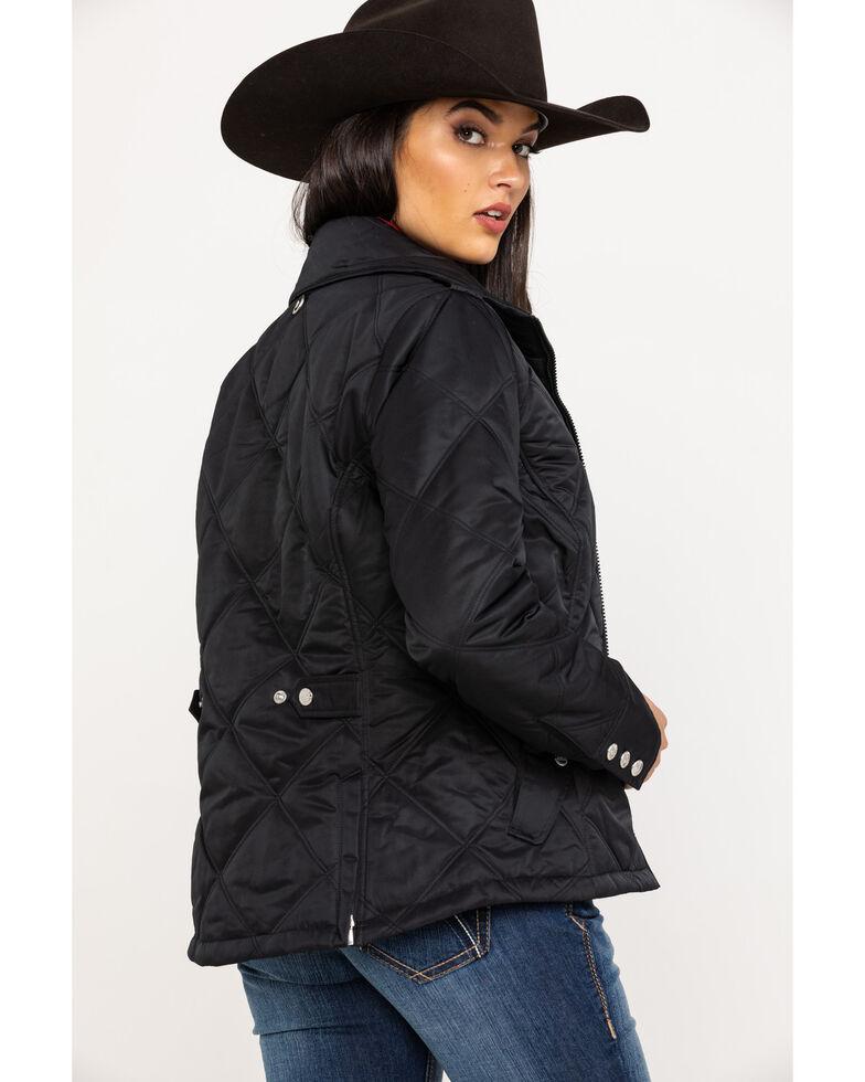 Ariat Women's Black Quilted Terrace Jacket , Black, hi-res