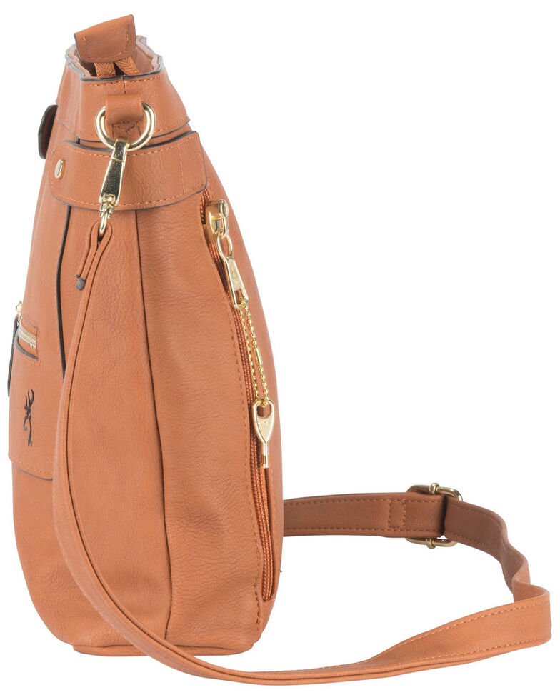 Browning Women's Brown Catrina Concealed Carry Handbag, Brown, hi-res