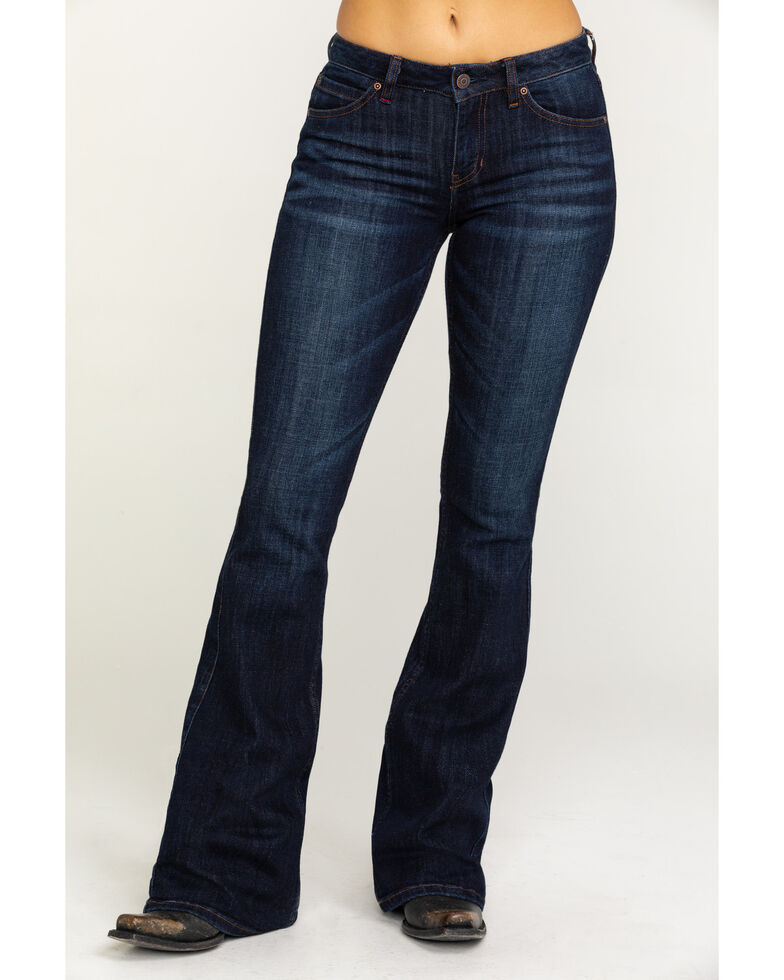 Idyllwind Women's The Rebel Bootcut Jeans - Dark Wash, Blue, hi-res