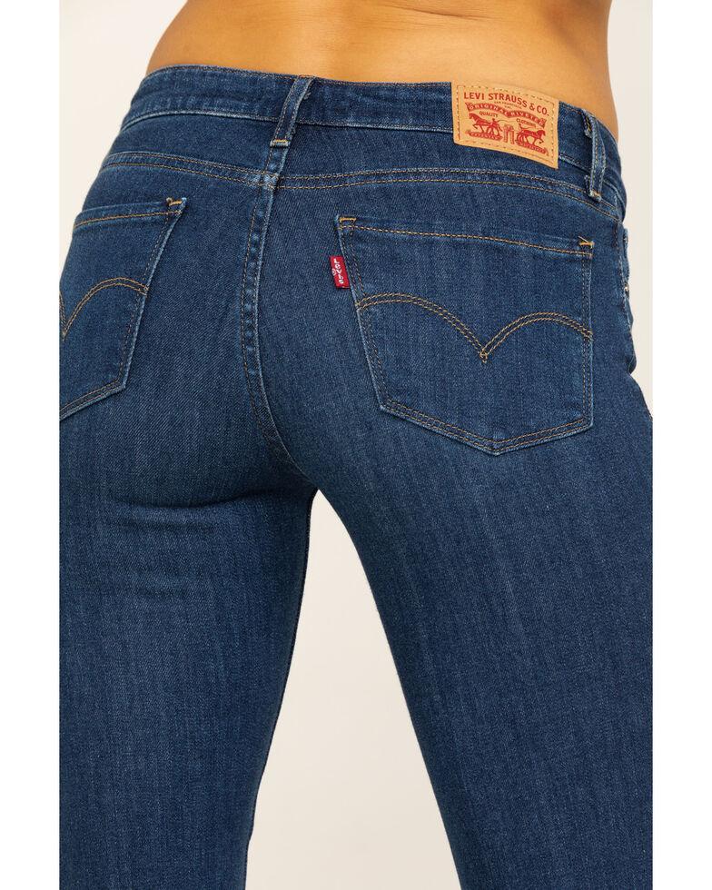 Levi's Women's 715 Bootcut Jeans, Blue, hi-res