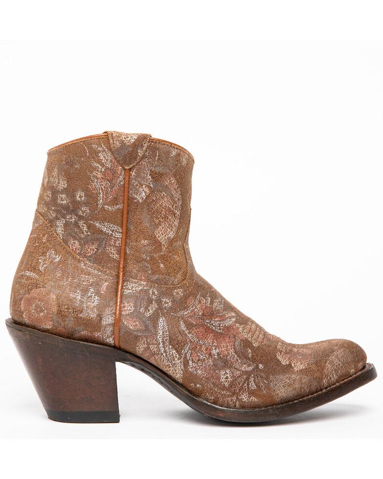 Shyanne Women's Sienna Fashion Booties - Round Toe, Brown, hi-res