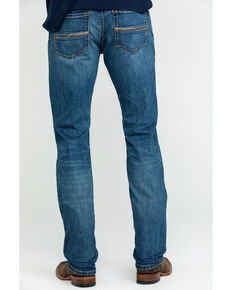 Ariat Men's M8 Pasadena Modern Low Stretch Slim Jeans , Blue, hi-res