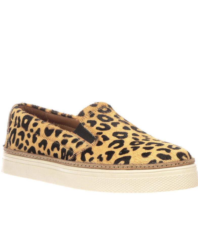 Lucchese Women's Leopard After-Ride Shoes, Leopard, hi-res