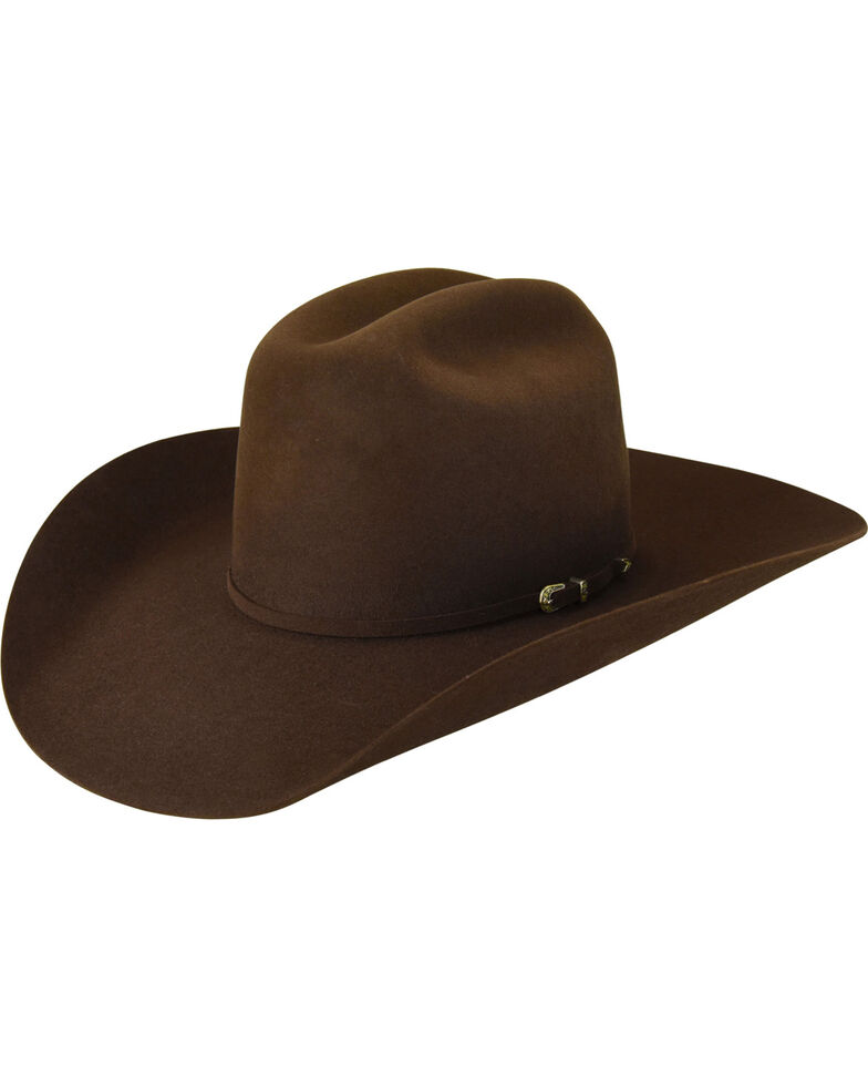 Bailey Men s Brown Pro 5X Wool Felt Cowboy Hat - Country Outfitter 979a57207b75