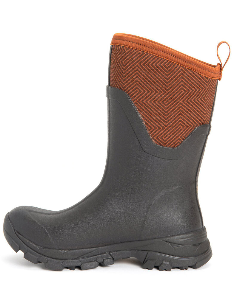 Muck Boots Women's Arctic Ice Rubber Boots - Round Toe, Brown, hi-res
