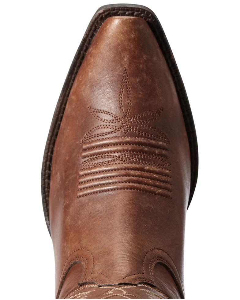 Ariat Women's Goldie Western Boots - Snip Toe, Brown, hi-res