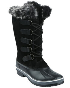 Northside Women's Kathmandu Waterproof Winter Snow Boots - Round Toe, Red, hi-res