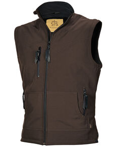 STS Ranchwear Boys' Youth Barrier Softshell Vest , No Color, hi-res