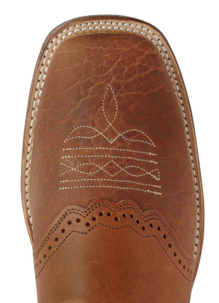 Boulet Saddle Rider Sole Boots - Square Toe, Sand, hi-res