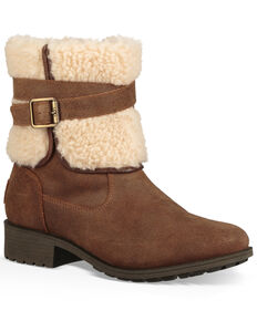 UGG Women's Blayre Harness Boots - Round Toe, Lt Brown, hi-res