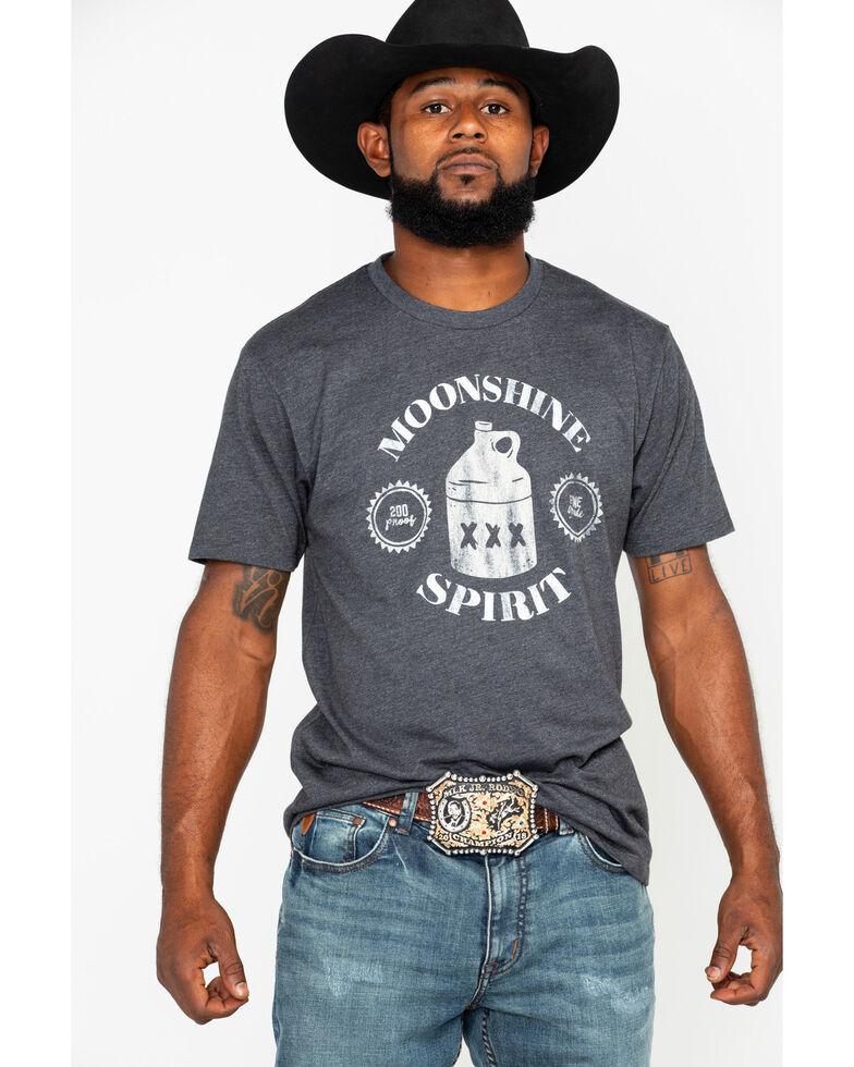 Moonshine Spirit Men's Fine Grade 200 Graphic T-Shirt , Teal, hi-res